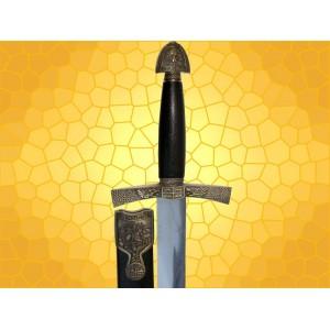 Dague IVANHOÉ Fourreau Mini Épée Moyen Age Médiévale