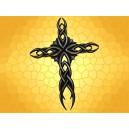 Plaque Murale Croix Celte Décoration Celtique Symbole Crucifix Ajouré