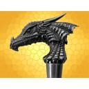 Canne Épée Tête de Dragon Cannes de Marche Fantasy Dragons SteamPunk Cane Sword