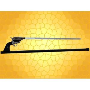 Canne Épée Pistolet Cannes de Marche Fantasy Revolver Cane Sword