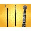 Canne Épée Squelette Cannes de Marche Crâne Cane Sword