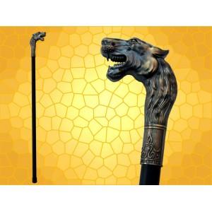 Canne Épée Lion Cannes de Marche Fantasy Félins SteamPunk Cane Sword