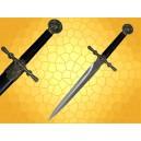 Dague Aigle Médiévale Mini épée du Moyen Age Rapace avec Fourreau