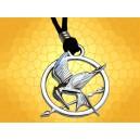 Pendentif Hunger Games Geai Moqueur Oiseau Symbole Révolution :    Pendentif Hunger Games Geai Moqueur Oiseau Symbole Révolution PEN016.