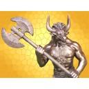 Figurine Minotaure Statuette Antique Homme Taureau Thésée