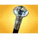 Canne Diamant SteamPunk Cannes de Marche Fantasy Faux Bijou