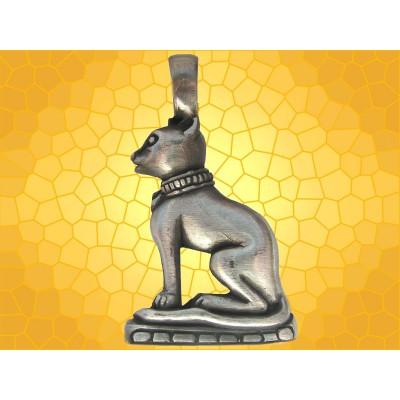 Pendentif Égyptien Bastet Dieu Chat Bijou Mythologie Égyptienne Antiquité