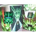 Boite pour Cartes Deck Box Green Dragon Boites de Rangement Carte de Jeu