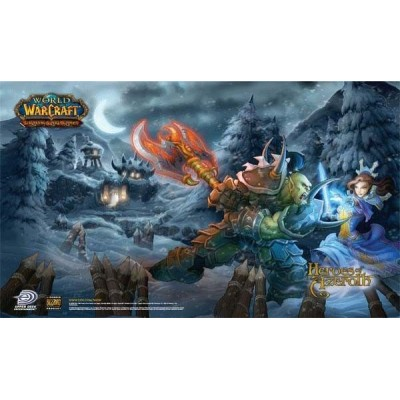 Tapis de Jeu World Of Warcraft Heroes Of Azeroth pour Jeux de Cartes WOW Magic Lord of the Rings