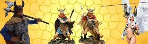 Figurines Viking