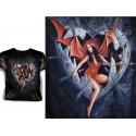 T Shirt BLIND EROSETTE Tee Shirts Fantasy Alchemy Gothic Oeuf Flèches et Succube
