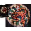 T Shirt BRIGANTIUS Tee Shirts Fantasy Alchemy Gothic Dragon et Roue du Destin