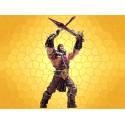 Lo´Gosh Figurine Héros Humain WARCRAFT Alliance Human Warrior HERO WOW