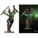 GARONA Figurine Articulée ORC ROGUE Warcraft Femme Orque WOW