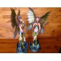 Figurine NEALA Fée Futuriste Jolie Faerie Science Fiction Statuette Fantasy
