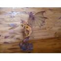 Figurine Dragon des Mers Nordiques Statuette sur Rocher Dragons Fantasy
