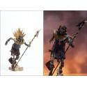 Figurine XALTOTUN Momie Magicien Statuette Articulée Sorcier Nécromancien (CONAN Series)