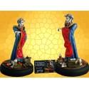 Statuette MELOKU Magic The Gathering Mana Bleu Champions of Kamigawa