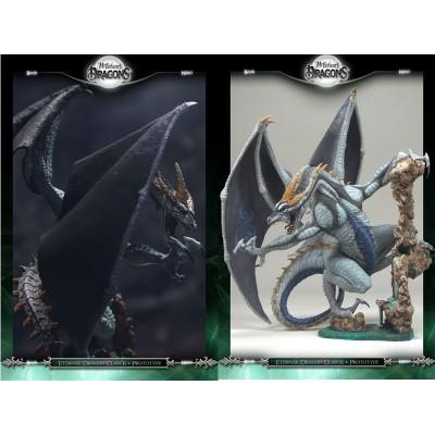 ETERNAL Dragon Clan Figurine Série 8 Statuette Dragons Articulés Mac Farlane