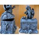 Boite à Bijoux Coffre et Dragon Reliquaire Gothique Fantasy