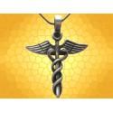 Pendentif Égyptien Caducée Collier Égypte Antique Mythologie Antiquité