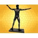 Statuette Zeus Roi des Dieux  Antiquité Greque Mythologie Grèce Antique Bronze