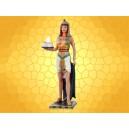 Bougeoir Égypte Antique Prêtresse Égyptienne Couleur Porte Bougie Antiquité