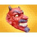 Crâne Démon Ricanant Tirelire Diable Rouge Crânes Enfer Fantasy Démoniaque