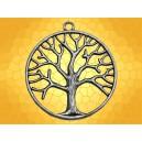 Pendentif Argenté Arbre de Vie Rond Bijou Celtique Symbole Celte :    Pendentif Argenté Arbre de Vie Rond Bijou Celtique Symbole Celte