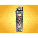 Étui a Briquet Alchemy Gothic Crânes et Crypte pour Briquets Jetables Gothique Macabre