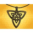 Pendentif Celte Triqueta Bijoux Bronze Celtique Bijou Triquetra Pendentif Symbolique