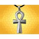 Gros Pendentif Égyptien Croix Ankh Clé de Vie Bijou Collier Égypte Antique Mythologie