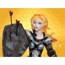 Figurine Moyen Age Statuette Guerrière Médiévale Sexy Heroic Fantasy :    Figurine Moyen Age Statuette Guerrière Médiévale Sexy Heroic Fantasy FIG14906.