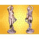 Figurine EVE Statuette Antique Femme Originale Serpent