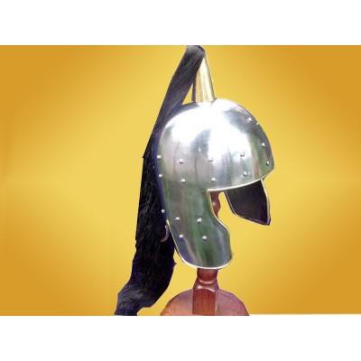 Casque médiéval italien Heaume Moyen Age Soldat Italie
